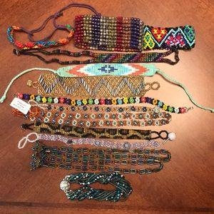 Jewelry - Handmade bracelets lot